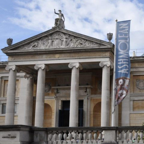 Visit the Ashmolean Museum founded in 1683