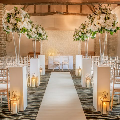 Walk down the isle at voco