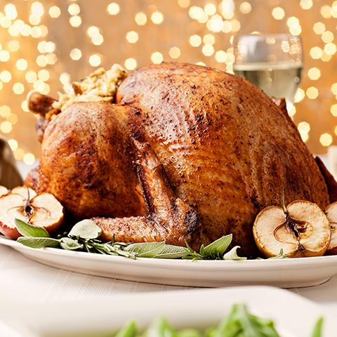 Christmas turkey on our Christmas menu