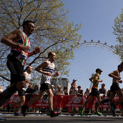 Watch or take part in the London Marathon
