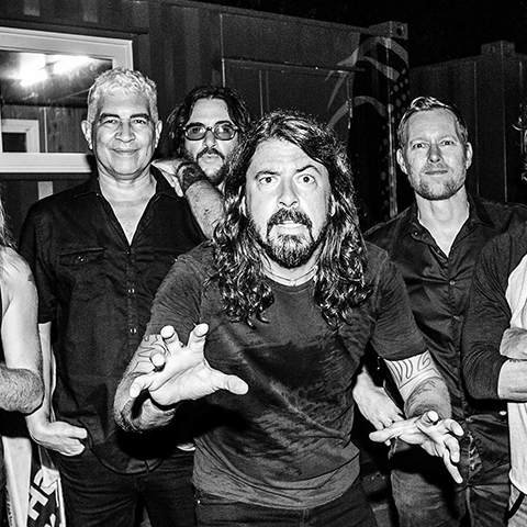 The Foo Fighters 2020 tour in Oxford