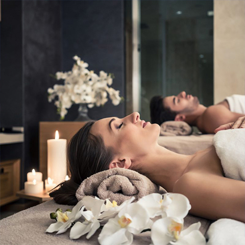 Relax in the spa and be pampered